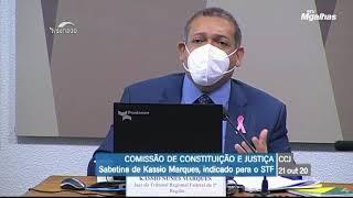"Kassio Nunes fala sobre aborto: ""defensor da vida"""