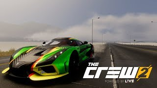 The Crew 2: Koenigsegg Regera Epic Launch Method!