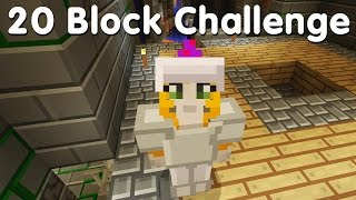 Minecraft PS4 - 20 Block Challenge - Weird Stronghold (32)