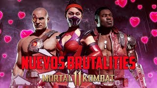 Mortal Kombat 11 | Nuevos Remates de Kitana, Kano y Jax |