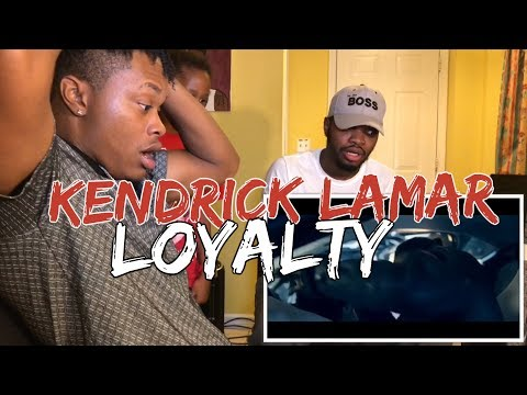 Kendrick Lamar  LOYALTY ft Rihanna  REACTION