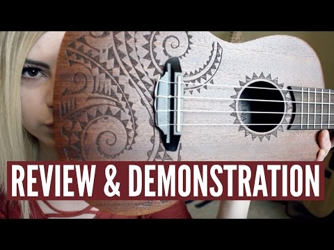 The Ukulele That I Play - Luna Tattoo Concert Ukulele Review