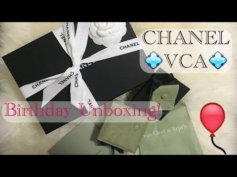 CHANEL💠VAN CLEEF & ARPELS | Birthday 2015 Unboxing