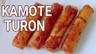 Kamote Turon Sweet Potato | How to Make Sweet Potato Roll | How to Cook Kamote turon