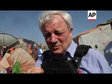 UN humanitarian chief visits Mogadishu
