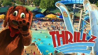 Schlitterbahn 2017 Overview in HD with POVs New Braunfels, Texas - Thrillz