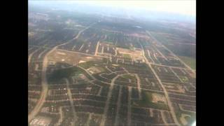 Toronto Lester B. Pearson approach and landing