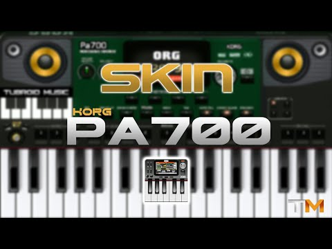 SKIN ORG KORG Pa700 DJSC   FREE  !!