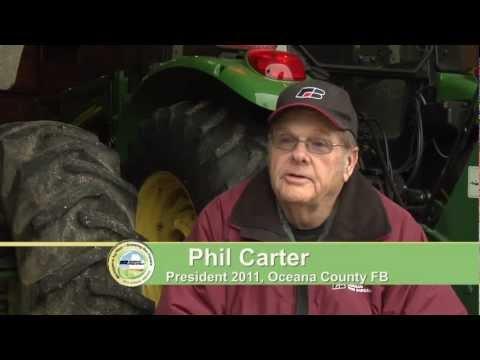 2012 County Excellence Award Category 3 Oceana County Farm Bureau