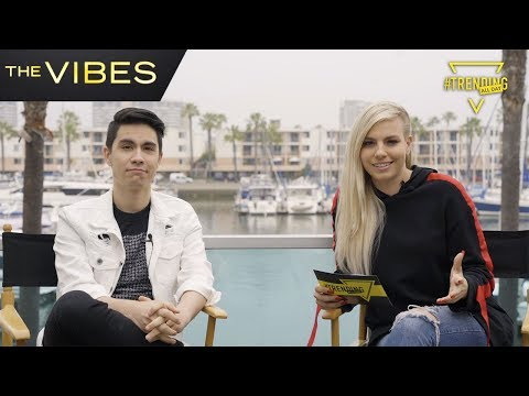 Sam Tsui Interview // The Vibes // Trending All Day