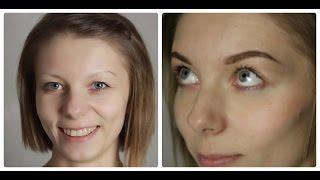 Коррекция и окрашивание бровей || Correction and colouring eyebrows