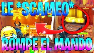 🔥 You SCAMEO and ROMPE YOUR PLAY!😂 Fortnite Save the World