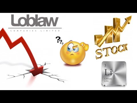 Is lithium stock the next big investment? Loblaw stock crash on Friday