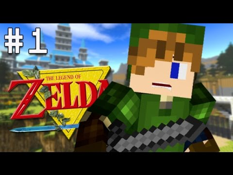 Minecraft PS4 - Legend of Zelda Adventure - Part 1 ( LoZ Ocarina of Time Map on Minecraft PS3, PS4 )