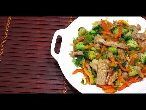 🔴 Chinese Pork & Vegetables - Stir Fry Pork - How to make Stir Fried Pork - Chinese Pork
