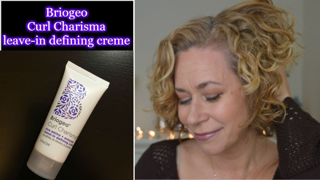 Review Briogeo Curl Charisma Leave In Defining Creme Youtube
