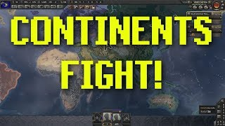 Hearts of Iron 4 | Continents are Countries
