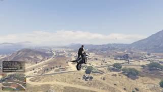 GTA V Rocket Bike Footage