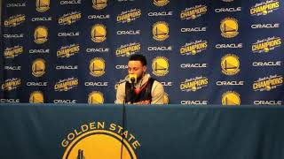 Steph Curry on wearing a Monta Ellis jersey and his relationship with him | Warriors vs Clippers