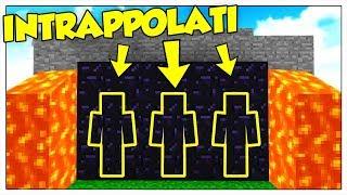 INTRAPPOLATI DALLE TRAPPOLE TROLL PIÙ AVANZATE DI SEMPRE! - Minecraft ITA