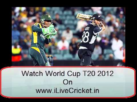 Pakistan VS New Zealand Live Streaming T20 World Cup 2012 in HD