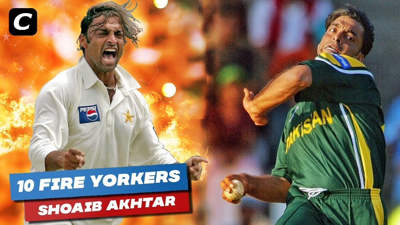 Download Top 10 Fire Yorkers by Shoaib Akhtar in Cricket History Ever