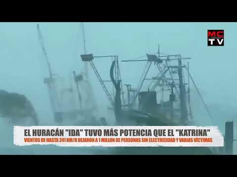 🚨 ÚLTIMA HORA: Así quedó Estados Unidos por el Huracán Ida (Noticias Tormenta Nora Mexico) Louisiana