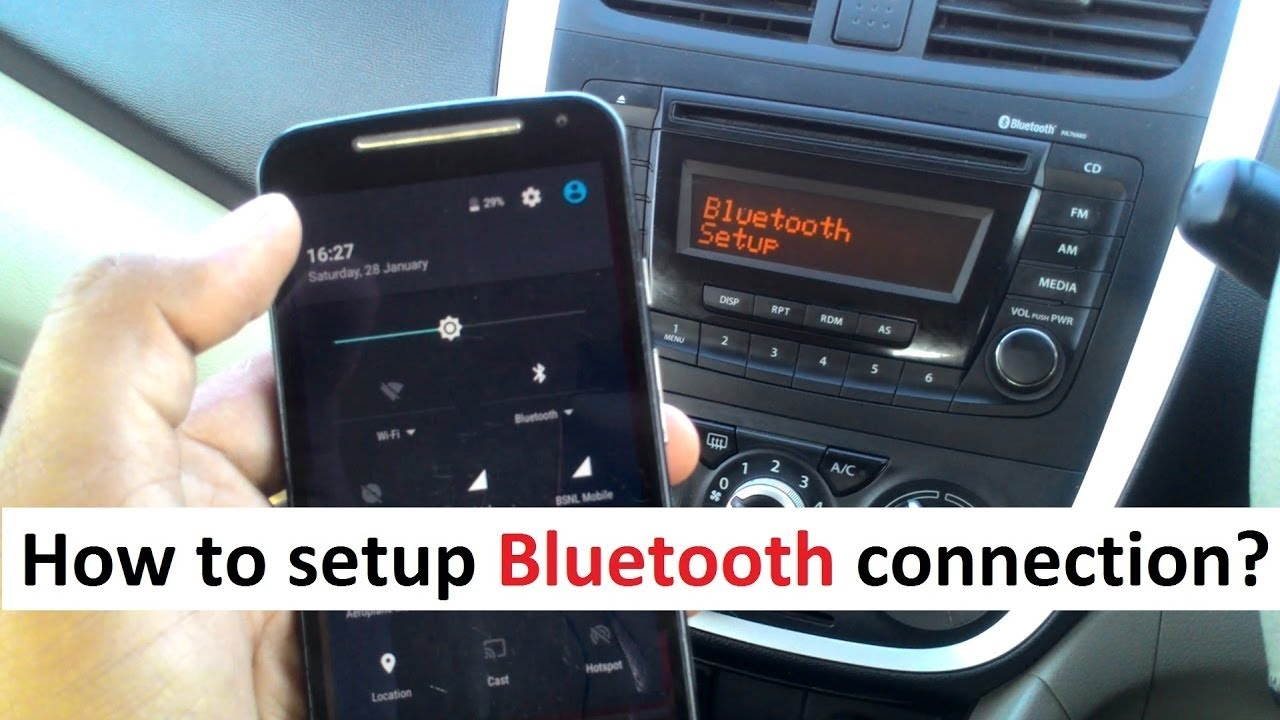 How To Connect Phone To Suzuki Swift