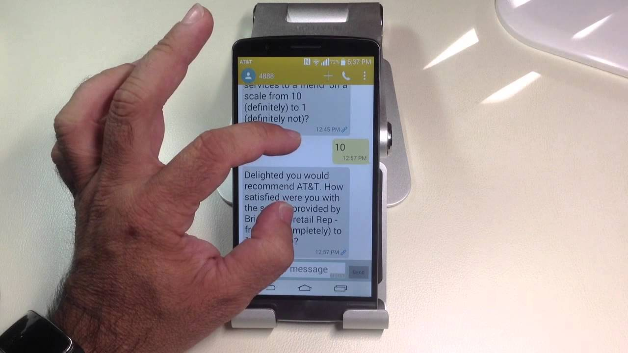 Lg G3 Tips How To Quickly Increase The Size Of The Fonts