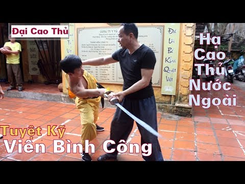 Vị Võ Sư Việt Mệnh Danh Thần Lực Công Phu  - Từng Hạ Đo Ván Cao Thủ Tiệp Khắc