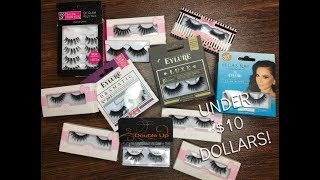 THE BEST AFFORDABLE LASHES - $10 OR LESS | glossandtalk