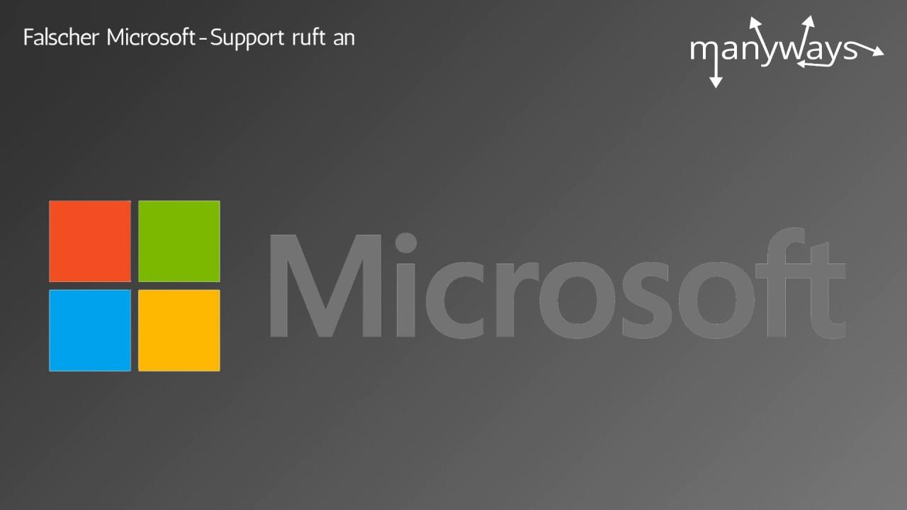 Fake Anrufe Von Microsoft