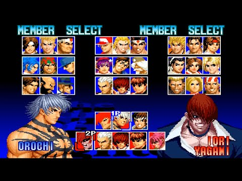 The king of fighters 39 97 all characters psx youtube - King of fighters characters pictures ...