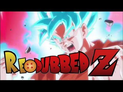 Dragon Ball Super ENGLISH REDUB - Goku's SSJ Kaioken GOD Transformation!