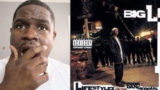 FIRST TIME HEARING | Big L - All Black Lyrics - REACTION
