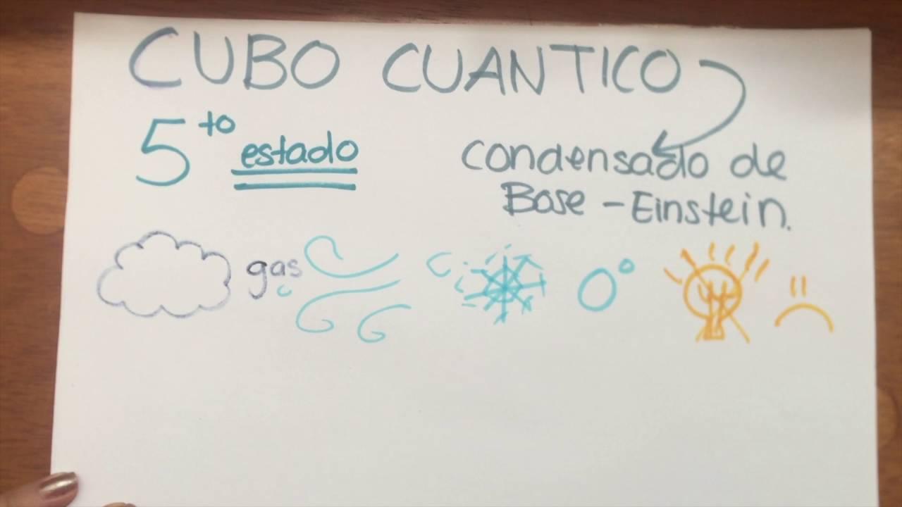 Estados De La Materia Plasma Y Cubo Cuantico Youtube
