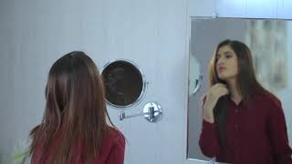 Dolphy 5X Magnifying Mirror Wall Mount - DMMR0001 video