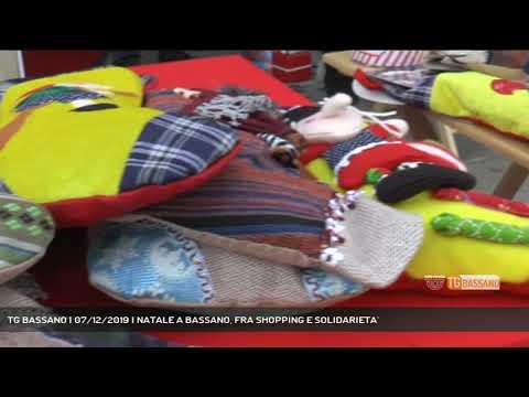 TG BASSANO | 07/12/2019 | NATALE A BASSANO, FRA SH...