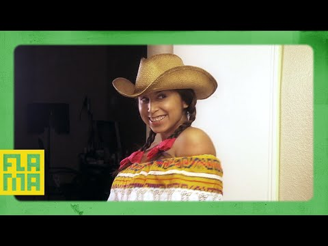 Mexican Girl Gets Ready For A Date
