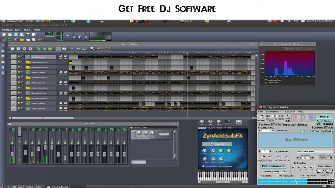 best dj software for windows xp free download