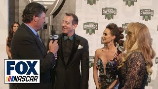 NASCAR Cup Series Awards Red Carpet | Waltrip Unfiltered | NASCAR on FOX