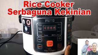 Unboxing dan Review Rice Cooker Pintar Mito