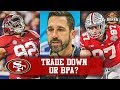 HC Kyle Shanahan Says 49ers Would Welcome A Trade Offer For The No. 2 Pick