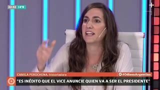 Carlos Pagni analiza la fórmula Alberto - Cristina con Camila Perochena, historiadora