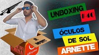 Unboxing #40: Óculos de Sol Arnette - ALIEXPRESS