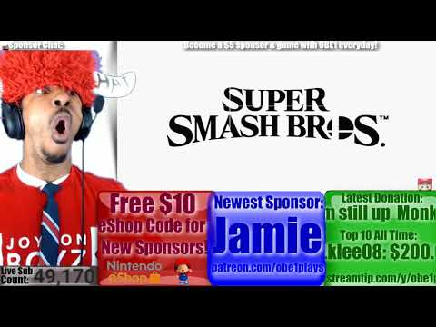 Live Reaction Super Smash Bros Announced For Switch! Nintendo Direct March 8th 2018