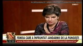 Simona Niculescu la Nașul TV (20.01.2014)