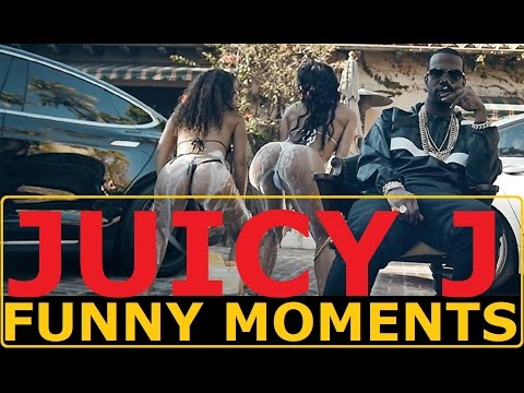 Juicy J FUNNY MOMENTS (BEST COMPILATION)