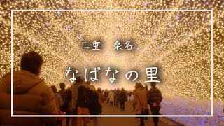 [HD]なばなの里 光のトンネル/Tunnel of light in Nabana no Sato (Japan)
