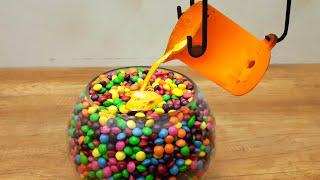 EXPERIMENT LAVA vs 10000 Skittles
